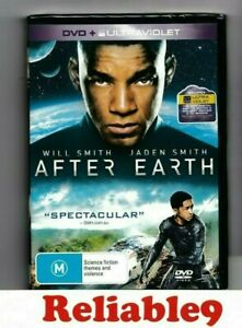 Will-Smith-Jaden-Smith-After-earth-DVD-Special-features-Sealed-Region4-2013-AUS