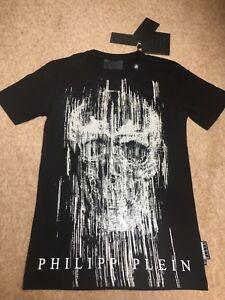 5ebb3822d1 Genuine Philipp Plein 'Ready' Medium Black T-shirt Brand New with ...
