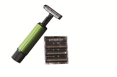 BCB camping shaver travel /& outdoor army military green field exercise razor