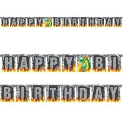 How To Train Your Dragon Happy Birthday Cardboard Jointed Banner 2.06m Long