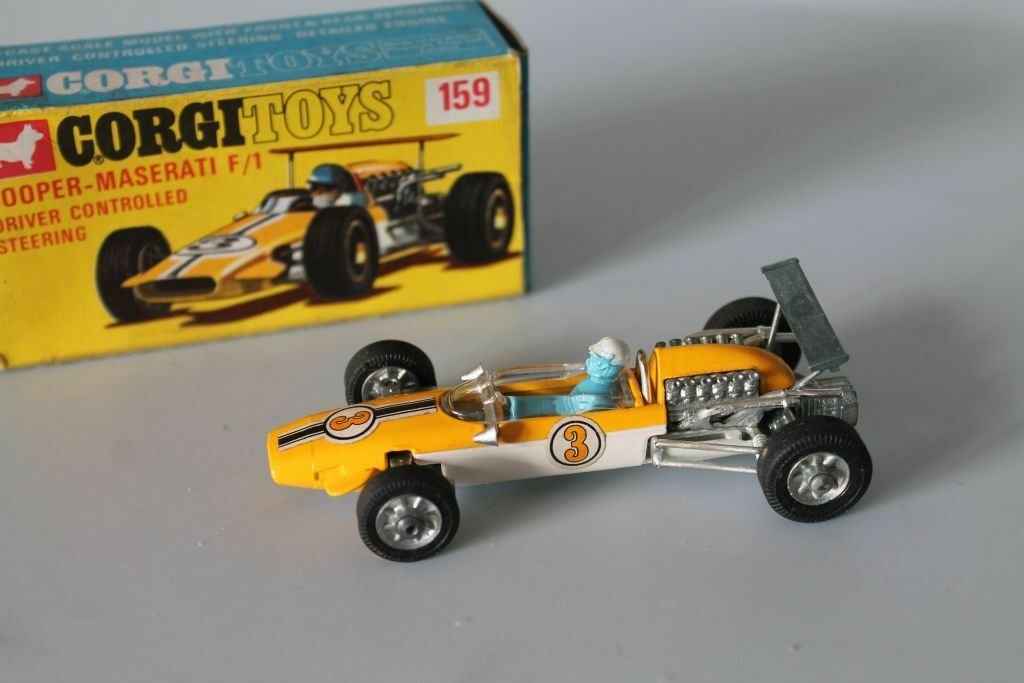 CORGI toys 159  Cooper Maserati Formula 1  1 43  ORIGINAL  OVP  MINT