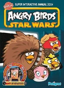 NEW-Angry-Birds-Star-Wars-Super-Interactive-Annual-2014-Free-Shipping