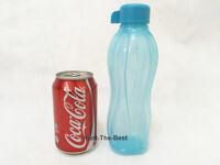 Neu TUPPERWARE Eco Easy Ecoeasy Trinkflasche Flasche 500ml blau