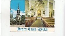 BF26278 stora tuna kyrka dalarna sweden  front/back image