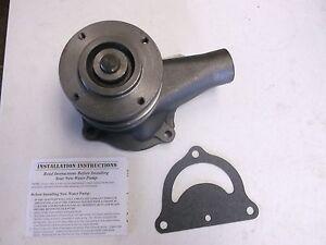 Ford-8N-9N-2N-Water-Pump-with-Pulley-Both-Gaskets-New