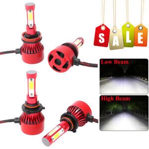 US H11 H8 LED Headlight 6000K White 1840W 276000LM 4-Side Kit Low Beam Bulbs Hot