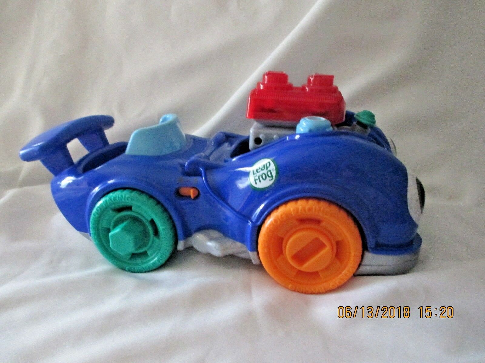 Racing Car LeapFrog Fix And And And Learn Speedy Lights and Sounds12  x 6  ad09ed