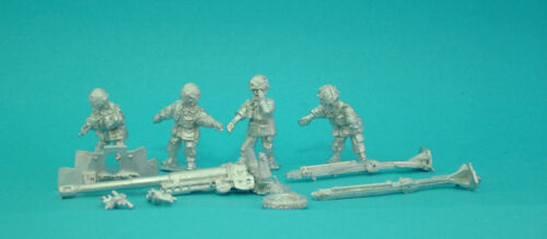 1st Corps Historical 28mm WW2 British Airborne Paratroops 6ld  Anti Tank Gun