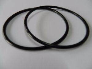 2 Stk 8,0 mm x 4,5 mm Zwischenradgummi Riemen für Tape CD usw