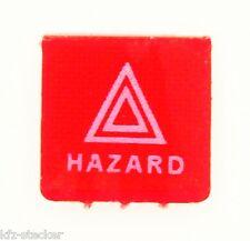 Schalter Symbolschild Warnlicht Warndreieck Gefahrenmeldung rot Hella ENG Hazard