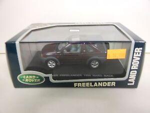 LAND ROVER FREELANDER OPEN HARD BACK DETAIL CARS EAGLE 1:43