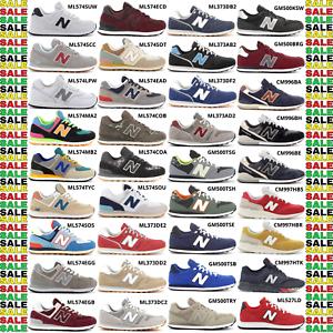 New-Balance-574-500-527-373-996-997H-scarpe-sportive-sneakers-da-uomo-con-lacci