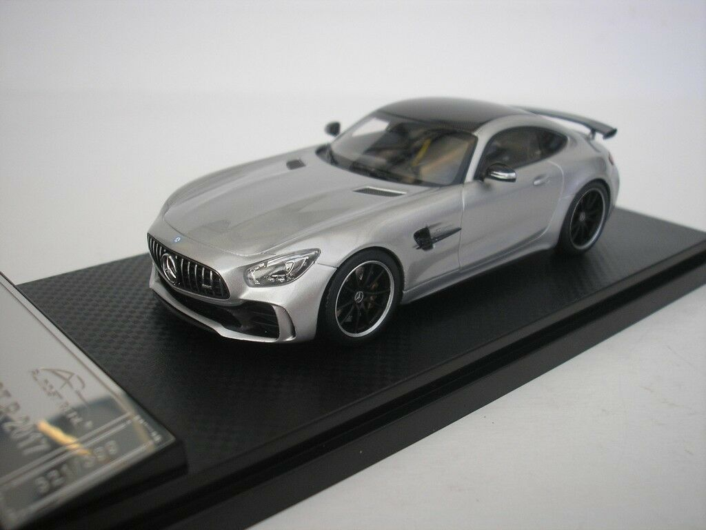 Mercedes Benz AMG GT R 2017 Argent 1 43 Almost Real 420706 nouveau