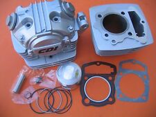 Cylinder Piston Set and Head Complete kit for Honda CB125S CL SL XL 125 124CM3