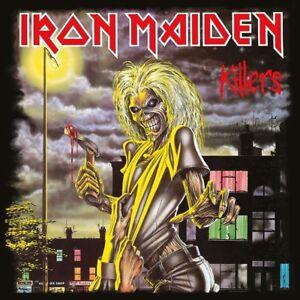 Iron Maiden Killers Couverture Second Album Canvas Imprimé Sur Toile 40cm X