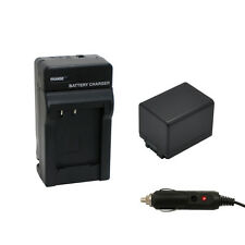 BP-727 Intelligent Battery + Charger for Canon VIXIA HF R300 R400 R500 R600 R62