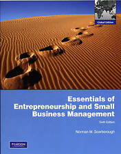 Essentials of Entrepreneurship and Small Business Management by Thomas W. Zimmer