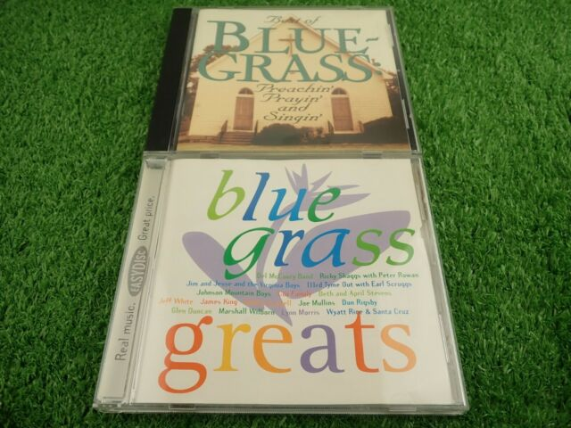 Best of Blue-Grass & Blue Grass Greats CD's