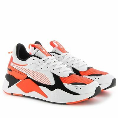 Puma x Reinvention RS X Whisper White Red Blast Lifestyle Sneakers New 369579 02 | eBay