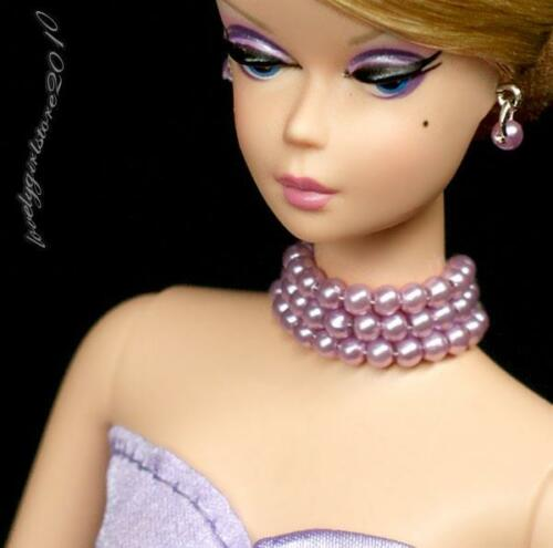 "Handmade doll jewelry necklace earrings fits Barbie doll and 11.5/"" dolls 909A"