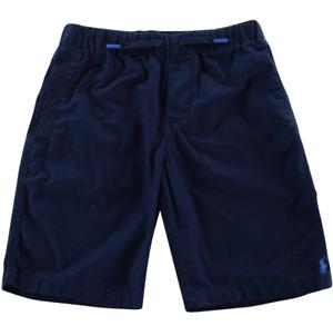 POLO-Ralph-Lauren-Junior-Boys-Navy-Cotone-Pantaloni-corti-nuova-con-etichetta-taglia-7-49-51-5in