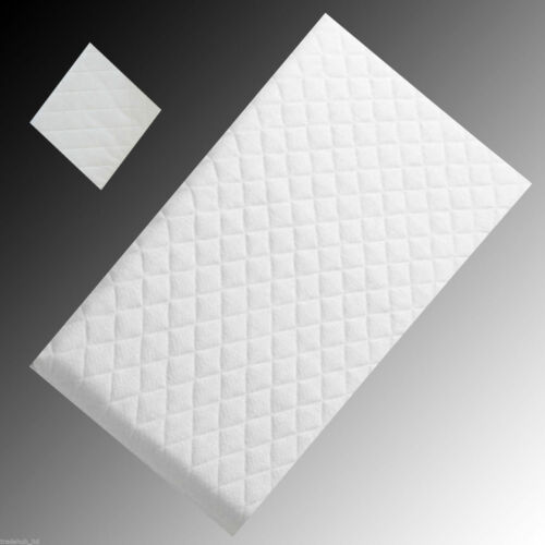 Extra Super Soft Baby Crib Cradle Mattress Extra Thick Comfy Cushy UK  89 x38 x5