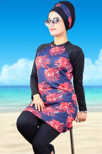 Tesettür Mayo Bademode Hijab,Badeanzug Swimwear A-1022 Hasema Burkini