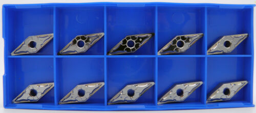 10pcs VNMG332HA H01 Carbide Inserts High Polished F//Aluminum Korloy 1-03-011708