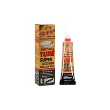 BMB Salon Crazy Hold Tube Waterproof Super Lace Glue For Hair Wigs 0.4 fl oz