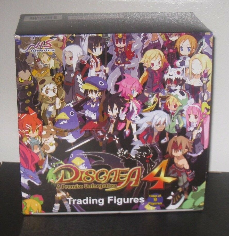 Disgaea 4 Trading Figure Box Boxes 9 Figures Sealed Limited Collectors
