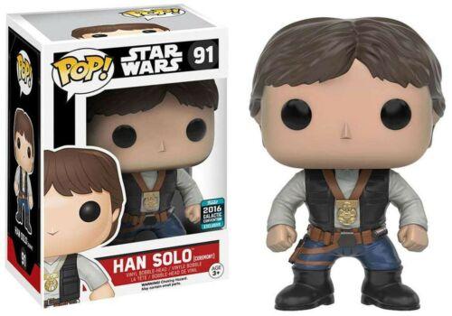 Funko Han Solo #91 POP Vinyl Bobble Head Figure Star Wars