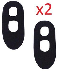 2X ATTACHE CAPOT PEUGEOT 101 102 103 BRIDE DE FIXATION VOLANT MOTEUR CAOUTCHOUC