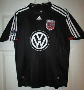 Details about MLS DC United VW Adidas Black Jersey Shirt Youth Large EUC