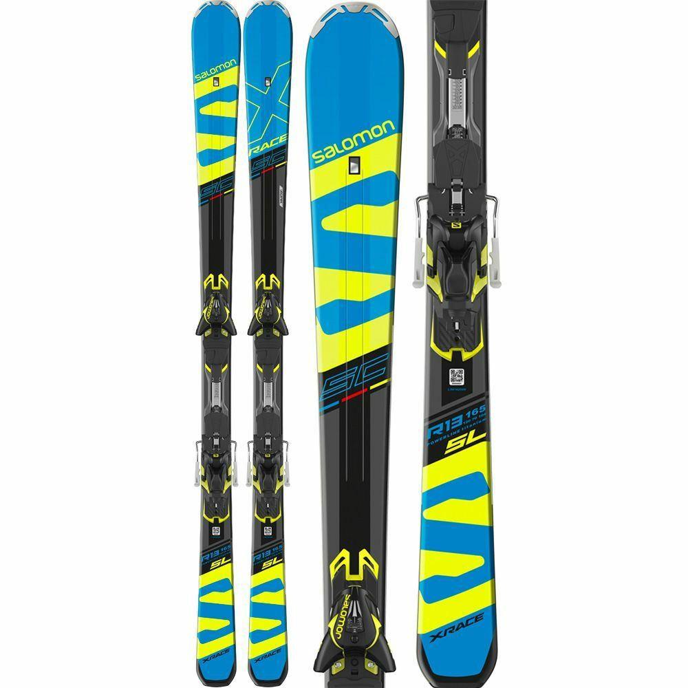 Skiing Salomon M X-Race SC+M XT12 C90 B 2018 CON Bindings 155 Cm
