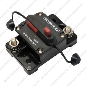 Commutable surface mount disjoncteur-cote 50-200A 12-48Vdc auto marine-afficher le titre d`origine