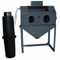 Cyclone Ft-4826 Full Top-opening Blast Cabinet Value Package W/ Dust Collector