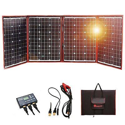 Dokio 220 Watts 12 Volts Monocrystalline Foldable Solar