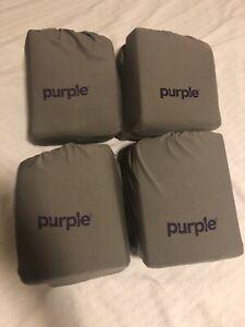 New Purple Mattress Brand The Purple Sheets Queen Slate Ebay