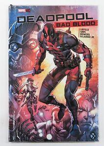 Deadpool-Bad-Blood-Hardcover-Marvel-OGN-Graphic-Novel-Comic-Book