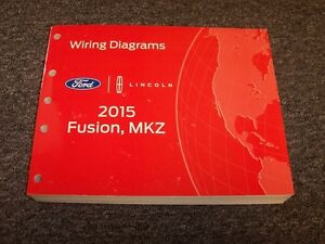 2015 Ford Fusion Sedan Electrical Wiring Diagram Manual S ...