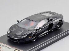 Lamborghini Aventador LP700-4 black 1:43 FrontiArt F003-04