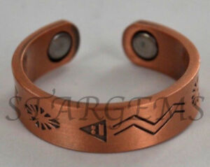 PURE-COPPER-MAGNETIC-THERAPY-CELTIC-RING-MENS-LADIES-HEALING-ARTHRITIS-AID-GIFT