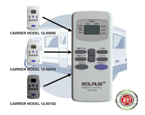 Carrier Airv Remote Control Replacement Designed for For RV Rooftop A//C systems