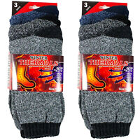 12 Pairs Mens Winter Thermal Warm Socks