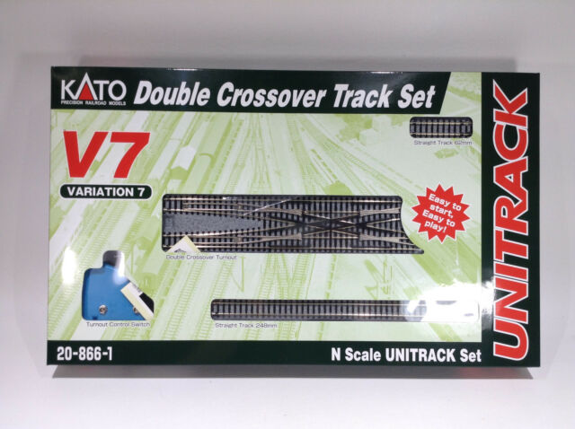 Brand New Kato N V7 Double Crossover Track Set # 20-866-1 # TOTE1