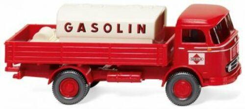 1//87 Wiking MB LP 321 mit Tank Gasolin 0438 04