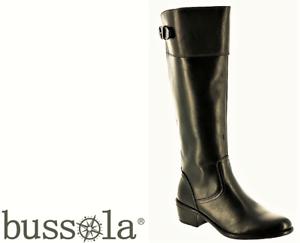 Bussola shoes - long comfort leather Boots - Angela