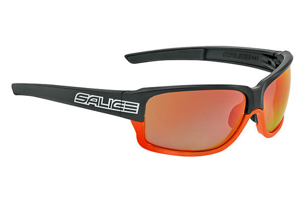 Brille Salice Modell 017RW schwarz-Orange Linse rot glasses glasses glasses Schwarz-jetzt d22190