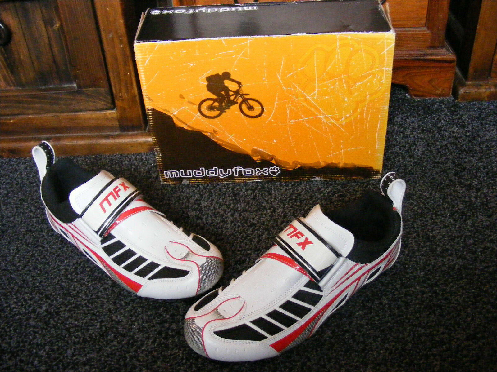 New MuddyFox Muddy Fox RBS 300  Herren Cycling Bicycle Bike Schuhes UK 11 EU 46 US 12