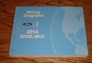 original 2014 ford edge lincoln mkx wiring diagrams manual. Black Bedroom Furniture Sets. Home Design Ideas